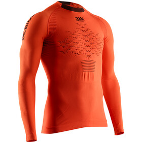 X-Bionic The Trick 4.0 Camiseta Running Manga Larga Hombre, trick orange/black